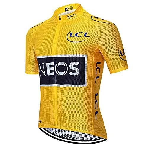 BROOE Miloto Ciclismo Jersey Hombres Ciclismo Ropa Equipo Bike Tops Camisas