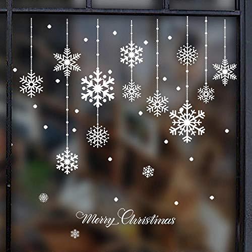 Vinilos Decorativos Y Murales Decorativos Navidad Pegatinas para Ventanas, Adhesivos para Ventanas, Cristales, Adhesivos murales
