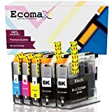 5 Ecomax Kompatibel Tintenpatrone als Ersatz für Brother LC223 LC-223XL für Brother DCP-J4120DW DCP-J480DW DCP-J562DW MFC-J4420DW MFC-J5320DW MFC-J5620DW MFC-J880DW