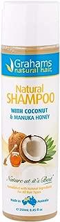 Grahams Natural Grahams Natural Shampoo with Manuka Honey for Sensitive Skin, 0.25 kilograms