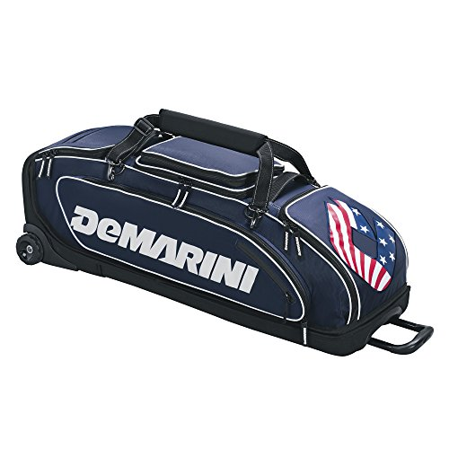 DeMarini Special Ops Wheeled Bag - Navy