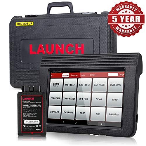 LAUNCH X431 V PRO Bidirektionaler Scanner Vollsystem-Scanner, Schlüsselprogrammierung, Rücksetzfunktionen ABS-Entlüftung, TPMS, EPB, SAS, DPF, BMS, ECU-Codierung, Injektorcodierung