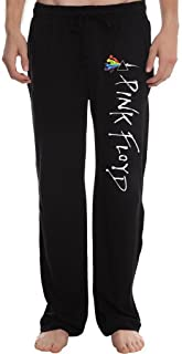 XINGJX Men's Pink Floyd Rabbit Bunny Triangle Colorful Running Workout Sweatpants Pants
