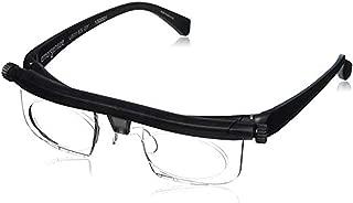 ⭐⭐⭐⭐⭐ Instant 20/20 Adjustable Glasses - Adjustable Eyewear 4 Once Non Prescription Lenses Focus Glasses Reading Eyeglasses Adjustable Lenses from -6D to +3D