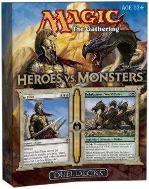 Magic The Manufacturer OFFicial shop Gathering: Heroes vs. Monsters Duel Max 46% OFF Ed Limited 2 Deck