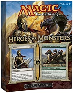 Magic: The Gathering: Heroes vs. Monsters Duel Deck (2 Limited Edition Theme Decks)