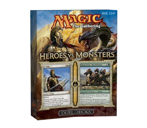 Magic The Gathering: Heroes vs. Monsters Duel Deck (2 Limited Edition Theme Decks)