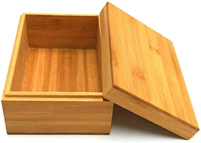 Bamboo wood box, bamboo wood storage box with rolling cover, wooden storage box combination, storage box, bamboo, natural, heaven and earth cover wooden boxwooden packaging, gift box,storage tea box