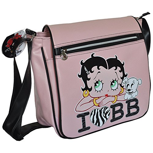 Betty Boop Bolso Bandolera 78121-BB Rosa