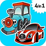 Car & Train games for toddlers