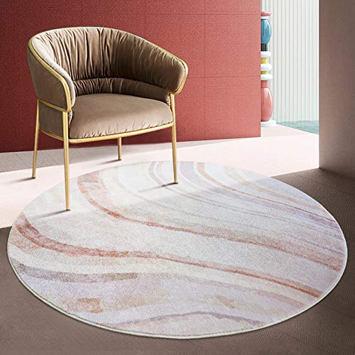 CarPET Round rug mats are made of soft and comfortable mats that do not shed hair or fade, exquisite lock edges are strong, durable and easy to clean.