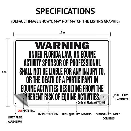 GEORGIA Equine Sign activity liability warning statute horse farm barn stable Photo #2