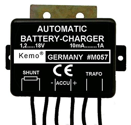 Kemo Akku Lademodul automatisch Ladegerät 1,2 - 18 V/DC