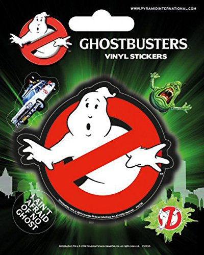 1art1 Ghostbusters - Logo, Vinyl Sticker Set Poster-Sticker Tattoo Aufkleber 12 x 10 cm