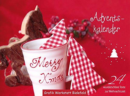 Adventskalender: 24 wunderschöne Texte zur Weihnachtszeit, immerwährender Tischkalender