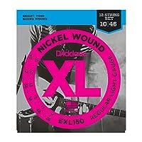 DADDARIO ダダリオ 12弦エレキギター弦 EXL150 XL Nickel Round Wound 12-String/Super Light