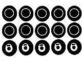 DEKPRO 5 juegos de anillo de sellado de repuesto para Smok TFV8. Mini accesorios Cloud Beast para TFV8, atomizadores de sellado X-Baby para TFV8 Baby O. Juntas de silicona.