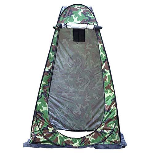 Isbasic Tenda da campeggio con borsa per il trasporto, tende per ripostiglio, tenda per WC, doccia e privacy, per fasciatoio, pesca e bagno (MC)