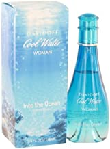 Cool Water Into The Ocean by Davidoff Women's Eau De Toilette Spray 3.4 oz - 100% Authentic