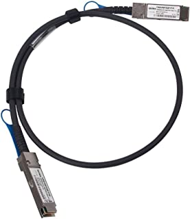 ipolex for MCP1600-C001 100Gb/s QSFP28 SFP Direct Attach Copper Cable (DAC), Twinax Cable, 1-Meter(3.3ft), 30AWG, Passive, for Mel