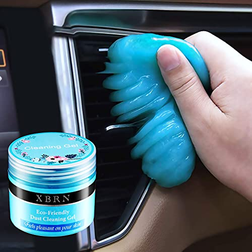Cleaning Gel for Car, Car Cleaning Kit Universal Detailing Automotive Dust Car Crevice Cleaner Auto Air Vent Interior Detail Removal Putty Cleaning Keyboard Cleaner for Car Vents, Laptops, Cameras