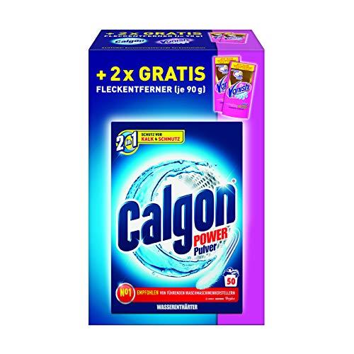 Calgon Pulver inklusive 2x Vanish Probiergröße gratis, 1996 g