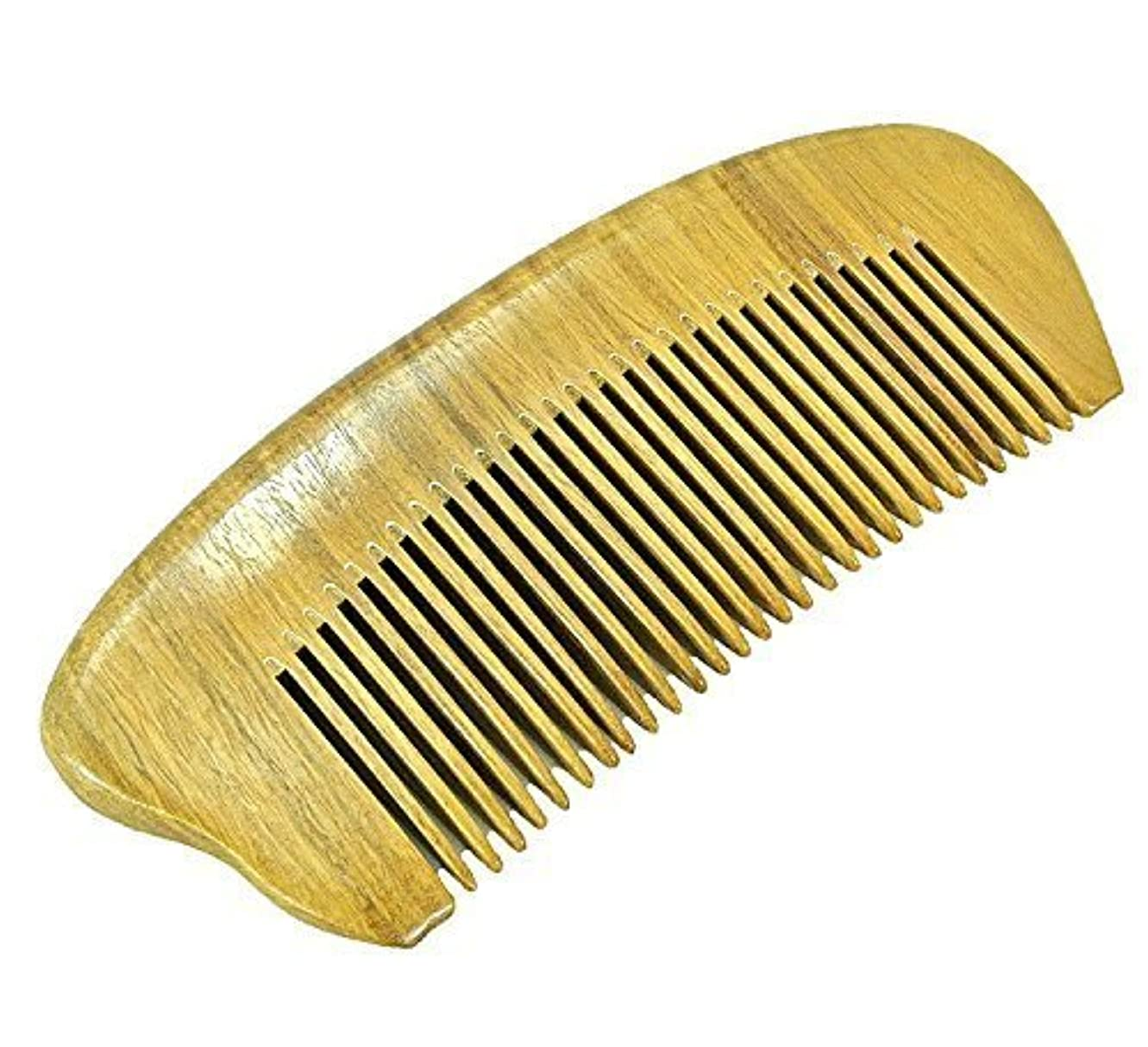 バッグ安価なマーチャンダイザーEQLEF? Green sandalwood no static handmade comb,Pocket comb (short) [並行輸入品]