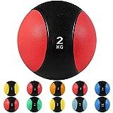 arteesol Balones medicinales, 1, 2, 3, 4, 5, 6, 7, 8, 9, 15 kg Balones de Peso Muerto Grip Entrenamiento de Fuerza y acondicionamiento, Cardio y Core