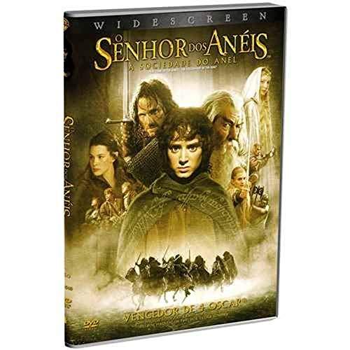 Senhor Dos Aneis A Sociedade Do Anel [DVD]