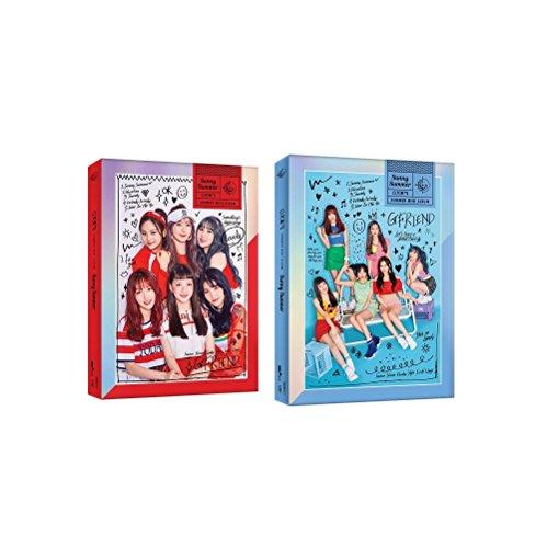 G-Friend GFRIEND - Sunny Summer [Random Ver.] (Summer Mini Album) CD+Booklet+2Photocards+Folded Poster+Free Gift