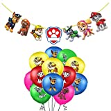 Globos Patrulla Canina Cumpleaños Patrulla Canina Dog Balloons Guirnaldas Patrulla Canina Dog Pancartas Patrulla Canina Dog Cumpleaños Decoración