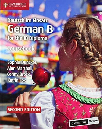 Deutsch im Einsatz Coursebook with Cambridge Elevate Edition German B for the IB Diploma German product image