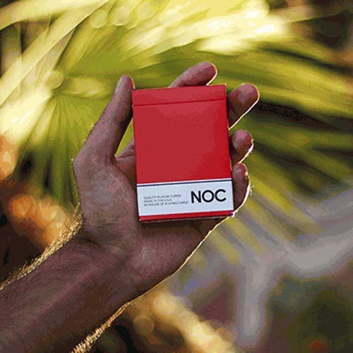 SOLOMAGIA NOC Original Deck (Red) Printed at USPCC by The Blue Crown