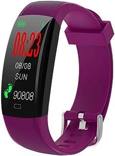 Contador de Pasos de calorías Smart Band Monitor de sueño de frecuencia cardíaca (Color: Azul)