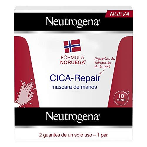 Neutrogena CICA,Repair Máscara de Manos, 6 Pares de Guantes