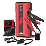 Oasser Portable Car Jump Starter - 600A Peak 16500mAh Power Pack Auto Battery