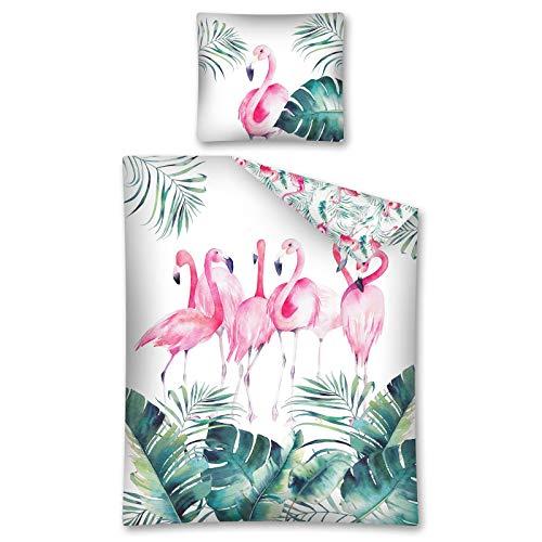 TDI Roman Kolodziejczyk Flamingo Flock - Juego de Funda nórdica