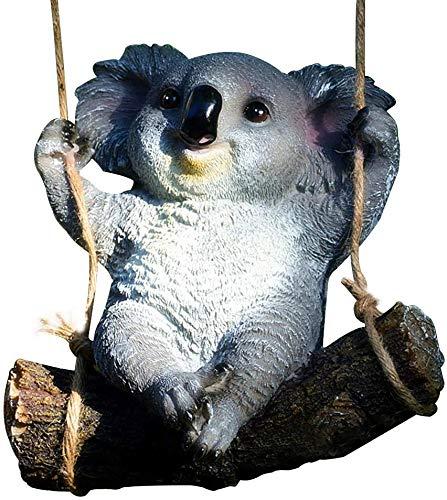 Centeraly Koala Estatua Resina Manualidades Cartoon