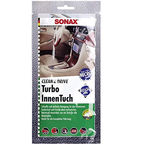 Sonax Clean&Drive 04130000 Turbo Chiffon de Nettoyage pour intérieur de Voiture