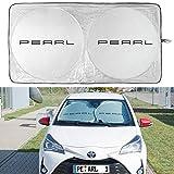 Lescars Automobile Protezione Solare: Pellicola di Protezione Solare Universale Riflettente per Il Parabrezza (Protezione Solare Automobile Parabrezza)