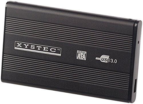 """Xystec Gehäuse Festplatte: Externes USB-3.0-Festplattengehäuse für 2,5\""""-SATA-Festplatten (Gehäuse für Externe Festplatte)"""