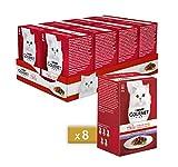 Purina Gourmet Mon Pett - Húmedo para Gatos con Carne de Vacuno, Ternera y Cordero - 48 S...