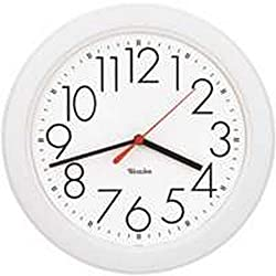 Westclox Quartz Wall Clock 10 White Quartz Movement Glass