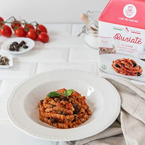 BUSIATE SICILIANE My Cooking Box x2 Porzioni - Per una serata tra amici, una cena romantica o come idea regalo originale. Stupisci i tuoi cari per Natale!