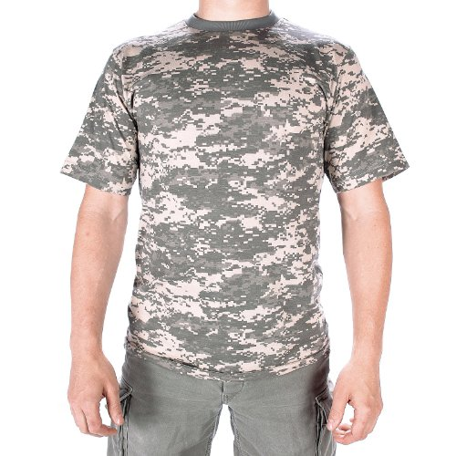 Mil-Tec US Army T-Shirt Camouflage léger (at Digital/XXL)
