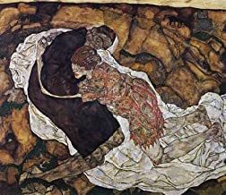 Death And Maiden Poster Print by Egon Schiele (12 x 12)