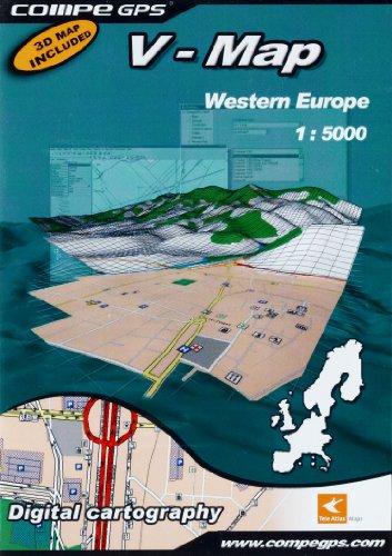 TwoNav 002-6000470 V-Map - Mapas de Europa para navegador GPS
