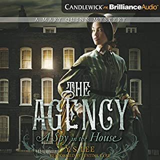 A Spy in the House audiobook cover art