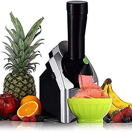 YANRU Fruchteis-Maschine, BPA-freie Eismaschine FrüChte, for Familiengeburtstagsfeier Nach Hause Elektrische Fruchteismaschin