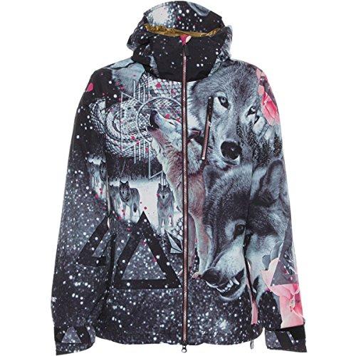 Volcom Juniors Astrid Gore-Tex 2L Snow Jacket, Grey, X-Small